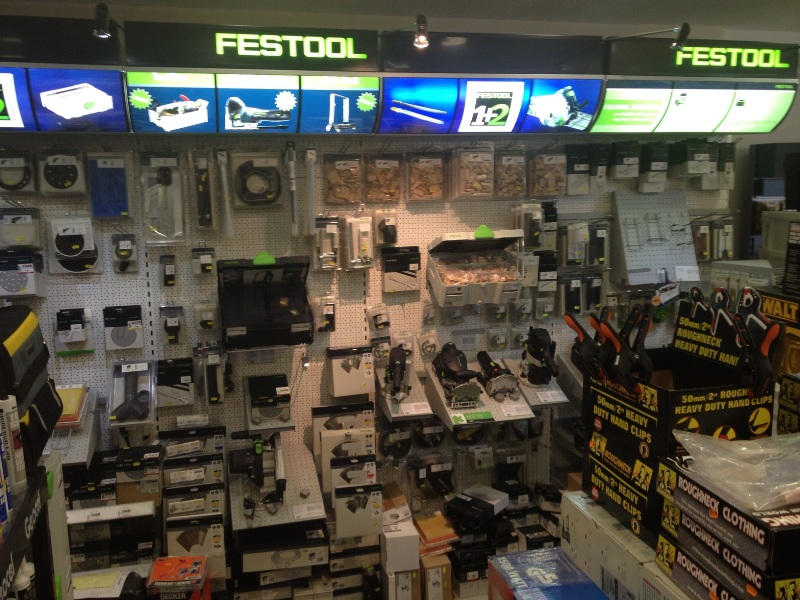 One of our Festool stands