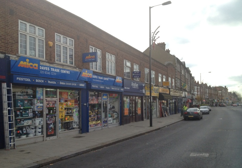 Our store on Ballards Lane